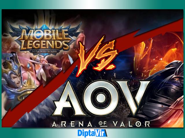 Keunggulan-Dan-Kekurangan-Mobile-Legends-Vs-AOV-Menurut-Diptavir