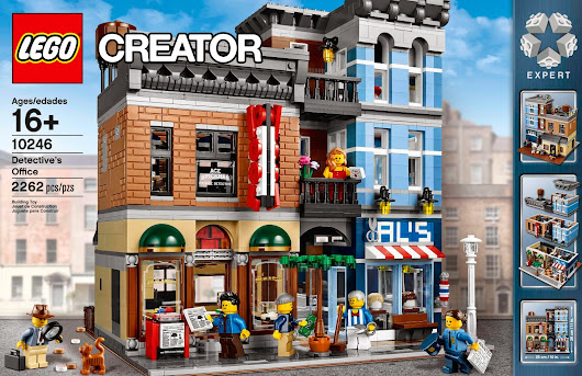 2015 LEGO Set 10246 Detective's Office