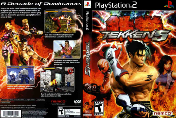 TEKKEN 5 FOR PC