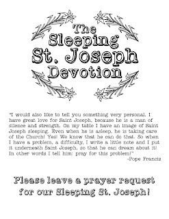 photograph regarding Printable Prayer to St. Joseph titled Overall look in the direction of Him and be Radiant: Sleeping St. Joseph