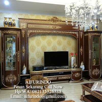 Classic Tv Cabinet Furniture Indonesia,italian classic mahogany tv cabinet,interior classic furniture