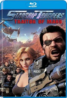 Starship Troopers Traitor Of Mars 2017 BD25 Latino
