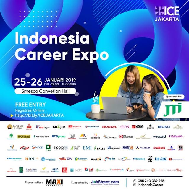 Bursa Kerja Jakarta 2019 (ICE Jakarta)