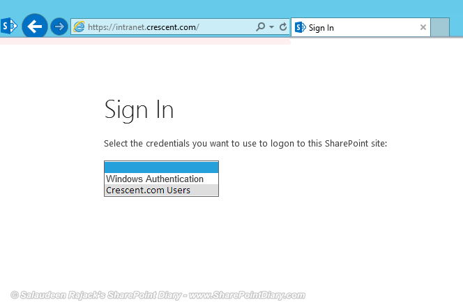 sharepoint adfs requirements