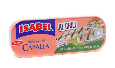 Isabel Filetes de caballa al grill