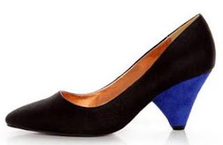 zapatos cone heel