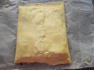 Tournez la pâte d'un quart de tour