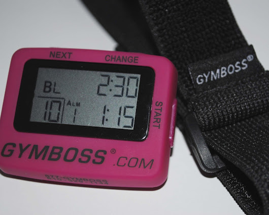 My life as a MOM!: Gymboss Interval Timer GIVEAWAY TIME
