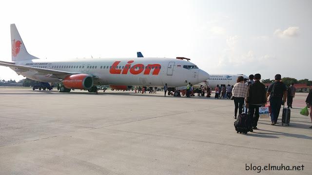 Pesawat maskapai Lion Tips dan Pengalaman Naik Pesawat Udara