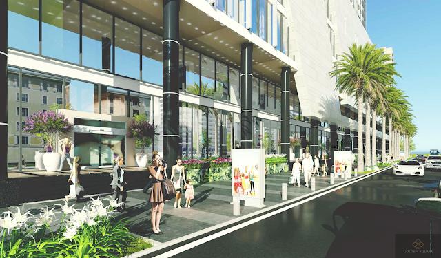 Không gian xung quanh dự án Golden Square Đà Nẵng