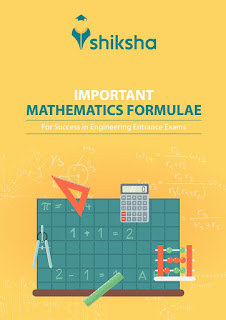 IMPORTANT MATHEMATICS FORMULAE FOR VARIOUS ENTRANCE EXAM