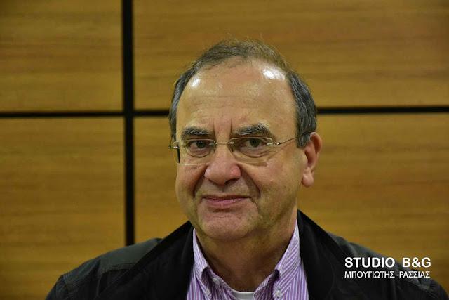 Δ. Στρατούλης στο Ναύπλιο: Να μην κλείσει το εργοστάσιο ΦΡΑΓΚΙΣΤΑ