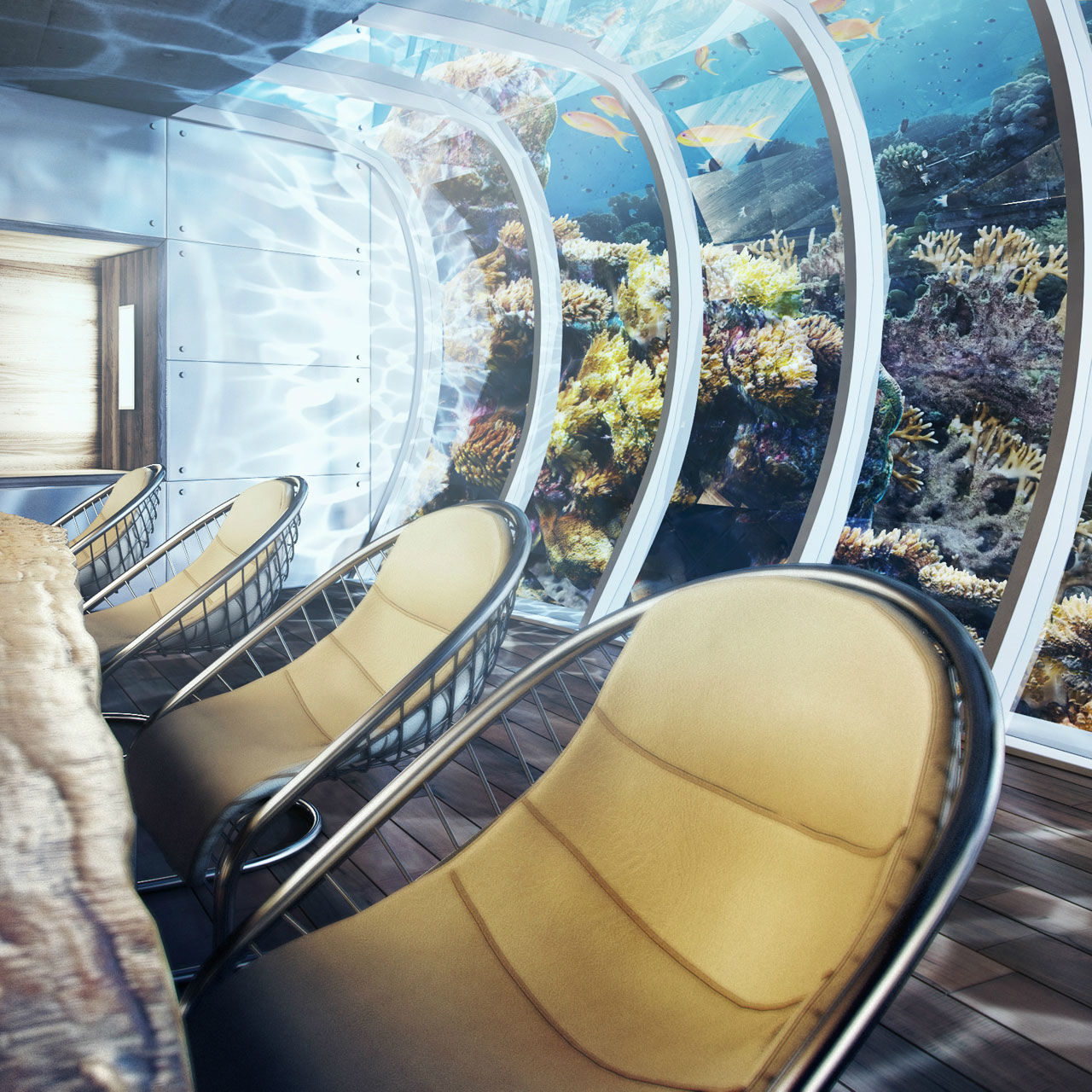 Exclusive Hotel In Dubai: Passion For Luxury : Underwater Hotel Planned In Dubai