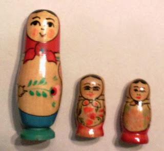 Самый известный сувенир из России матрешка