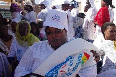 Khady Ba, President of the Guédiawaye Association of Disabled Women.
