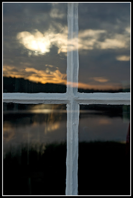 Nova Scotia; reflection; Dawn; Sunrise; Window