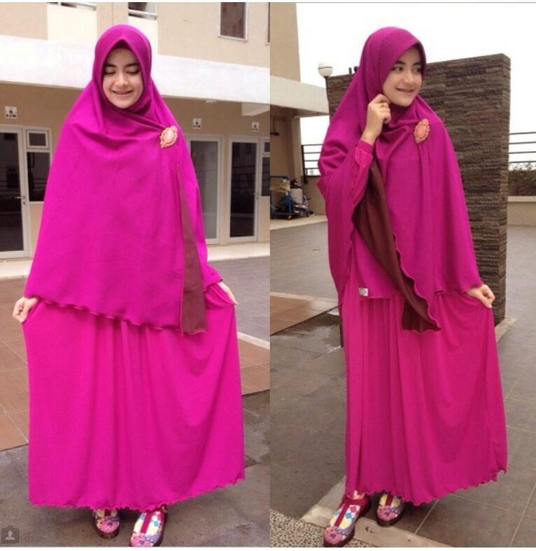 10 Model Baju Lebaran Untuk Wanita Muslim Gemuk