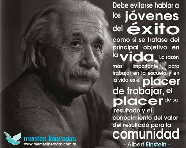 Frases De Exito Motivacion: 1000+ Images About Frases De Albert Einstein On Pinterest