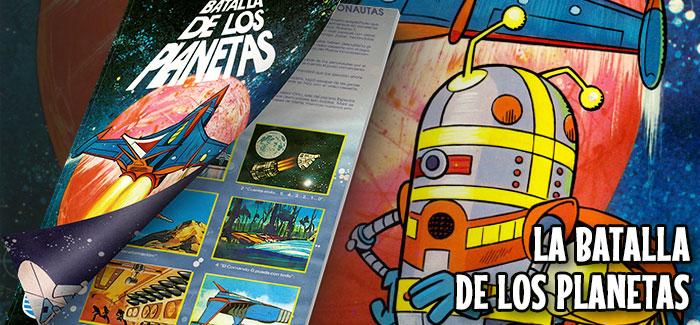 Álbum La Batalla de los Planetas Danone 1980