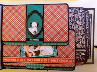 Raining Cats and Dogs Album Page view 2 Clare Charvill Graphic 45