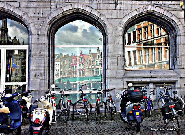 Markt (Praça do Mercado), Bruges, Bélgica