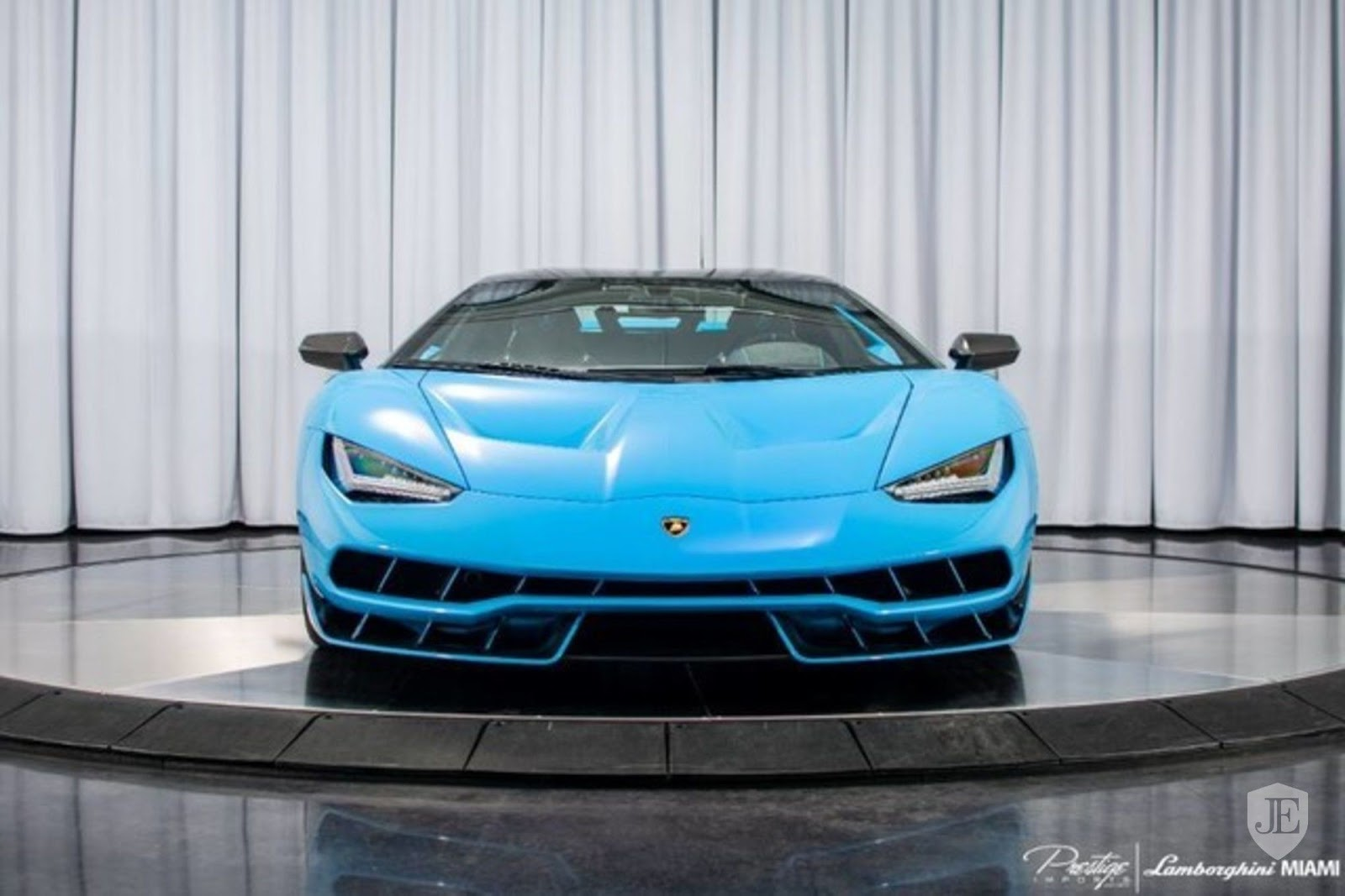 Bright Blue Lamborghini Centenario Listed For Sale