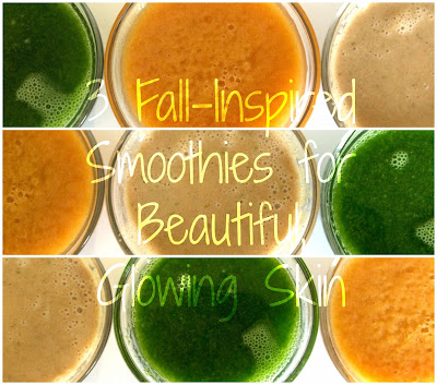 3 Fall-Inspired Smoothies for Glowing Skin