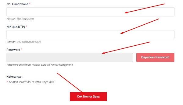 Cara Cek Nomor HP Sudah Teregistrasi telkomsel