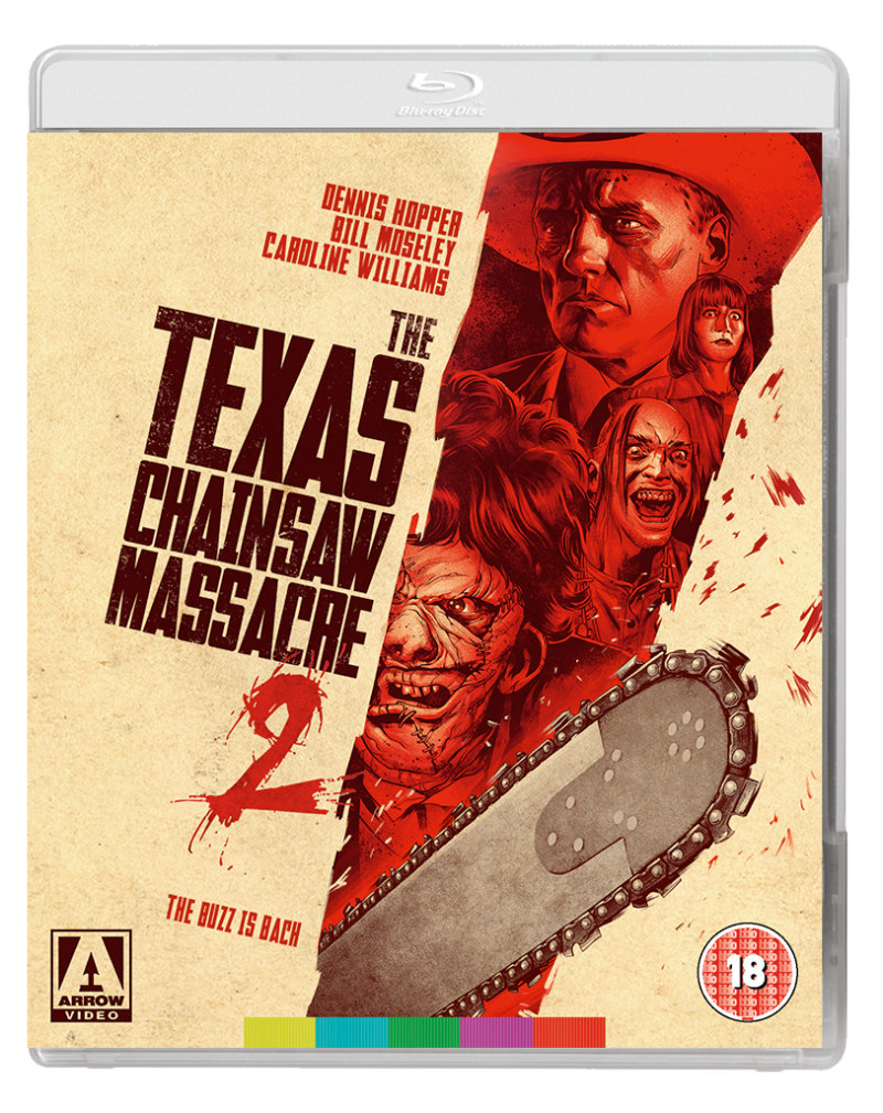 the texas chainsaw massacre 2 arrow video