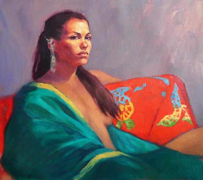Ню и портреты. Roz McQuillan 15