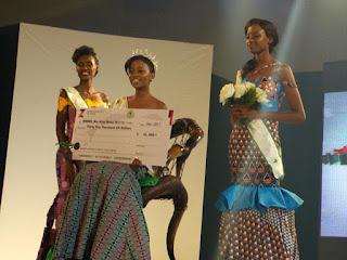 Entertainment: Botswana's Gaseangwe Balopi wins Miss Africa 2017