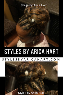 Braid hair styles for black women