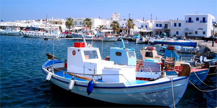Paros, isole Cicladi, Grecia