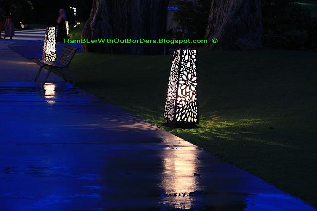 Garden foot light, Christmas Wonderland, Gardens by the Bay, Singapore