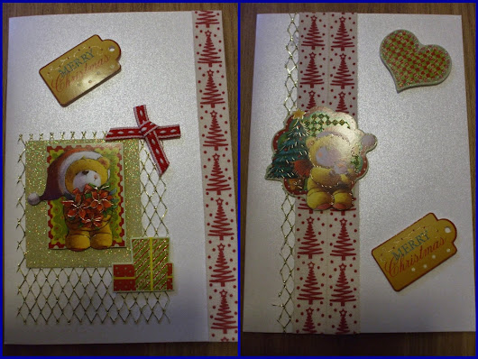 My First Teddy Bear Christmas Cards
