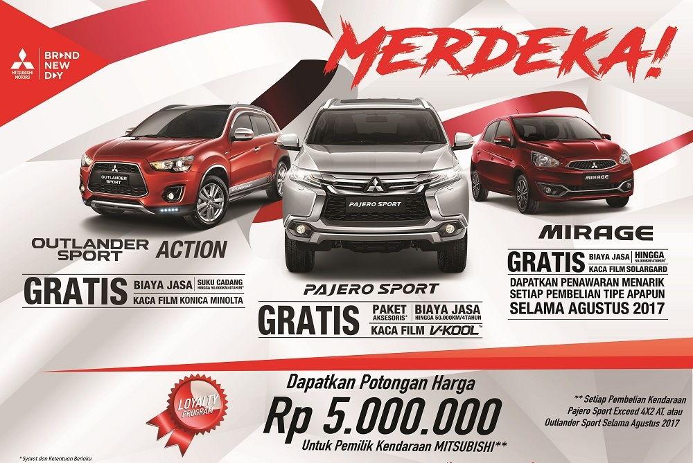 Promo Merdeka Mitsubishi Bintaro