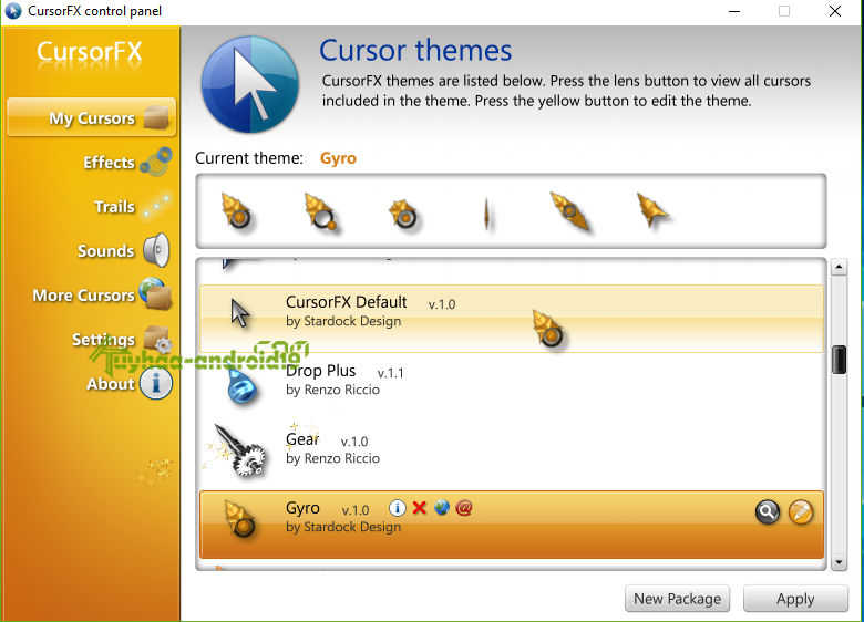 Stardock CursorFX Plus Full Version