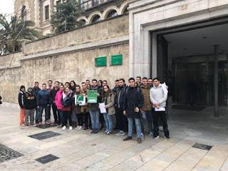 Alumnos andaluces afectados en Granada
