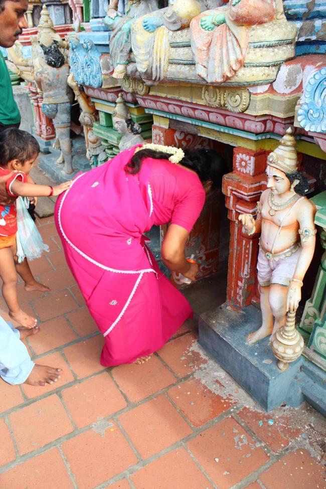 Entrance To The Vimanam Of Thirukoshtiyur Temple