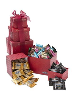 Ghirardelli Sentimentale chokolade tårn