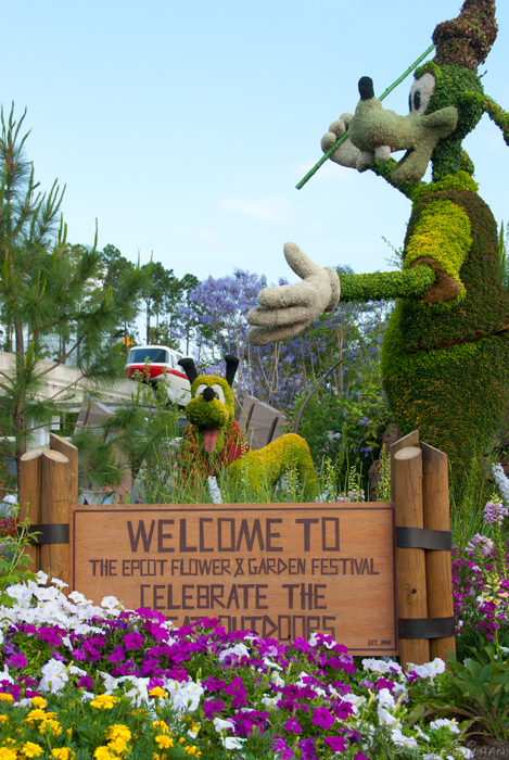 Epcot's Flower and Garden Festival 2013