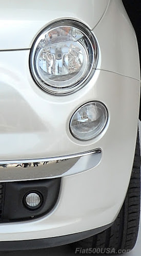 European Fiat 500 Headlight
