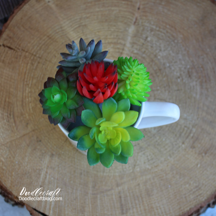 Doodlecraft: Be Awesome Today Succulent Planter
