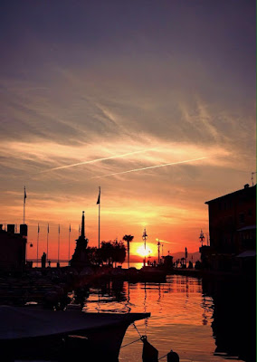 Sonnenuntergang, Sundown, Lazise, Gardasee