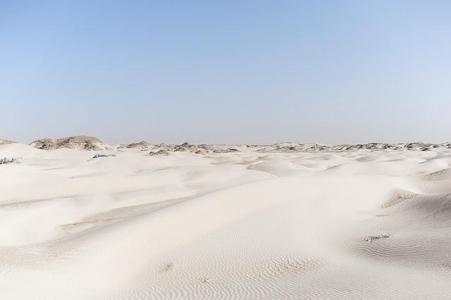 White desert aka Sugar Dunes, Oman