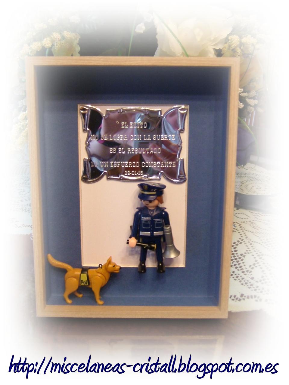 Misceláneas cristall: ***Un regalo original para un Policía***