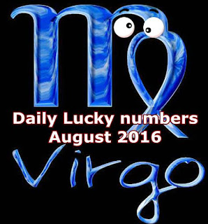 VIRGO's Daily Lucky numbers for August 2016
