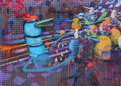 colorful art alexone - alëxone combining graffiti creator