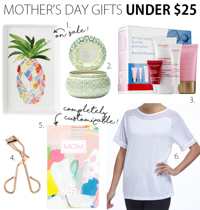 Mother's Day Gift Guide 2016 Under $25 | www.thebellainsider.com