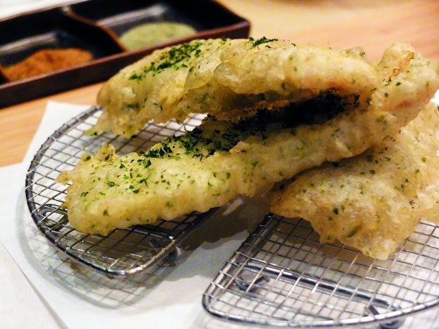 Hana Singapore Restaurant: New Tempura Omakase Set Menu 2016